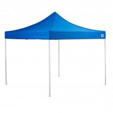 Backyard Pro® Courtyard® Series Straight Leg Aluminum Instant Canopy, Blue, 10' x 10' #554ALP10X10B