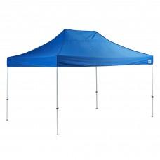 Backyard Pro® Courtyard® Series Straight Leg Steel Instant Canopy, Blue, 10' x 15' #554BP10X15B
