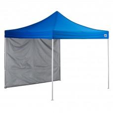 Backyard Pro® Courtyard® Series Straight Leg Aluminum Instant Canopy and Wall Kit, Blue, 10' x 10' #554ALP10KTBL