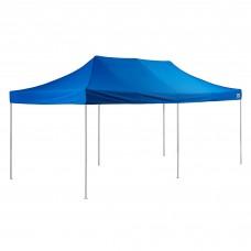 Backyard Pro® Courtyard® Series Straight Leg Aluminum Instant Canopy, Blue, 10' x 20' #554ALP10X20B