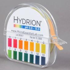 Hydrion® Insta-Check pH Test Paper Dispenser - Level 0-13 #93 S/R