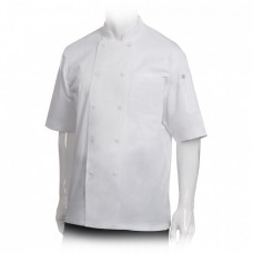 Chef Works® Montreal Cool Vent™ Basic Chef Coat White 2XL Size #JLCV-WHT-2XL