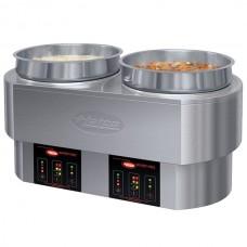 Hatco® Countertop Soup Warmer Food Well® w/ Thermostatic Controls, 2x11 qt\208-240v\1ph #RHW-2 208/240