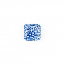 Crow Canyon Home Splatter 8 oz Small Square Tray Blue Splatter #D122DBM