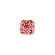 Crow Canyon Home Splatter 8 oz Small Square Tray Red Splatter #D122RM