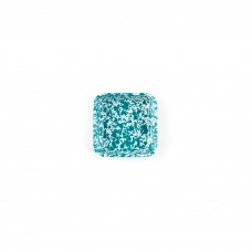 Crow Canyon Home Splatter 8 oz Small Square Tray Turquoise Splatter #D122TQM