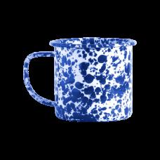 Crow Canyon Home Small Mug Blue/White Marble D01DBM