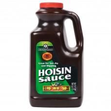 Kikkoman® USA Hoisin Sauce, 5 lb 3oz.(2,4kg) #015424