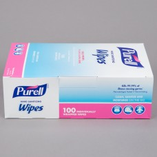 Purell® Hand Sanitizing Wipes 100 Count Box - 10/Case #9022-10