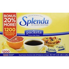 SPLENDA® No Calorie Sweetener (1200 Packets)