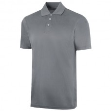 Henry Segal® Charcoal Gray Performance Cool-N-Dry Polo Short Sleeves Shirt with UV Protection, Size 2XL