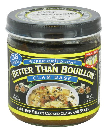 Бульон-основа из молюсков Better Than Bouillon Clam Base 227гр\8oz Best before Jan-02-20 #098308002079