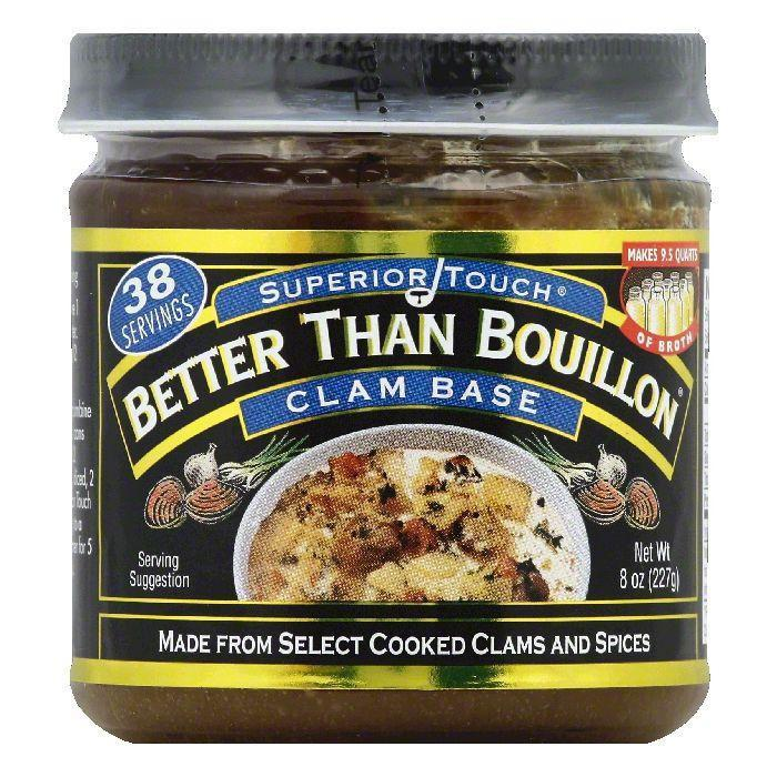 Бульон-основа из молюсков Better Than Bouillon Clam Base 227гр\8oz #098308002079