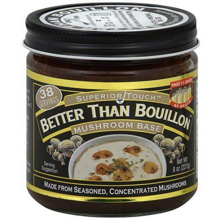 Бульон-основа грибная Better Than Bouillon Mushroom Base 227гр\8oz #098308002086