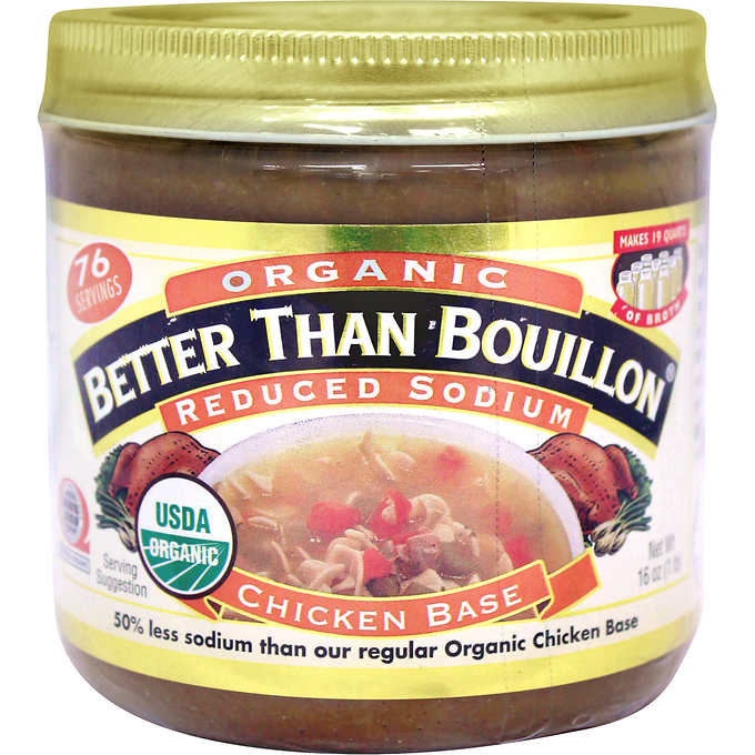 Бульон-основа куриная Better than Bouillon Organic Chicken Soup and Sauce Base, 454гр\ Best before Jun-21-20 #287780