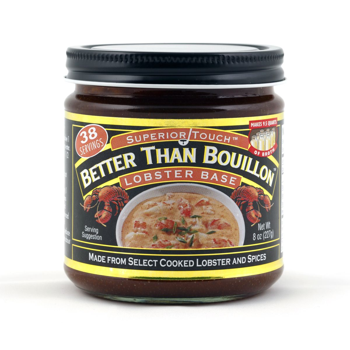 Бульон-основа из лобстеров Better Than Bouillon Lobster Base 227гр\8oz \Best before Feb 19 2022\ #098308002062
