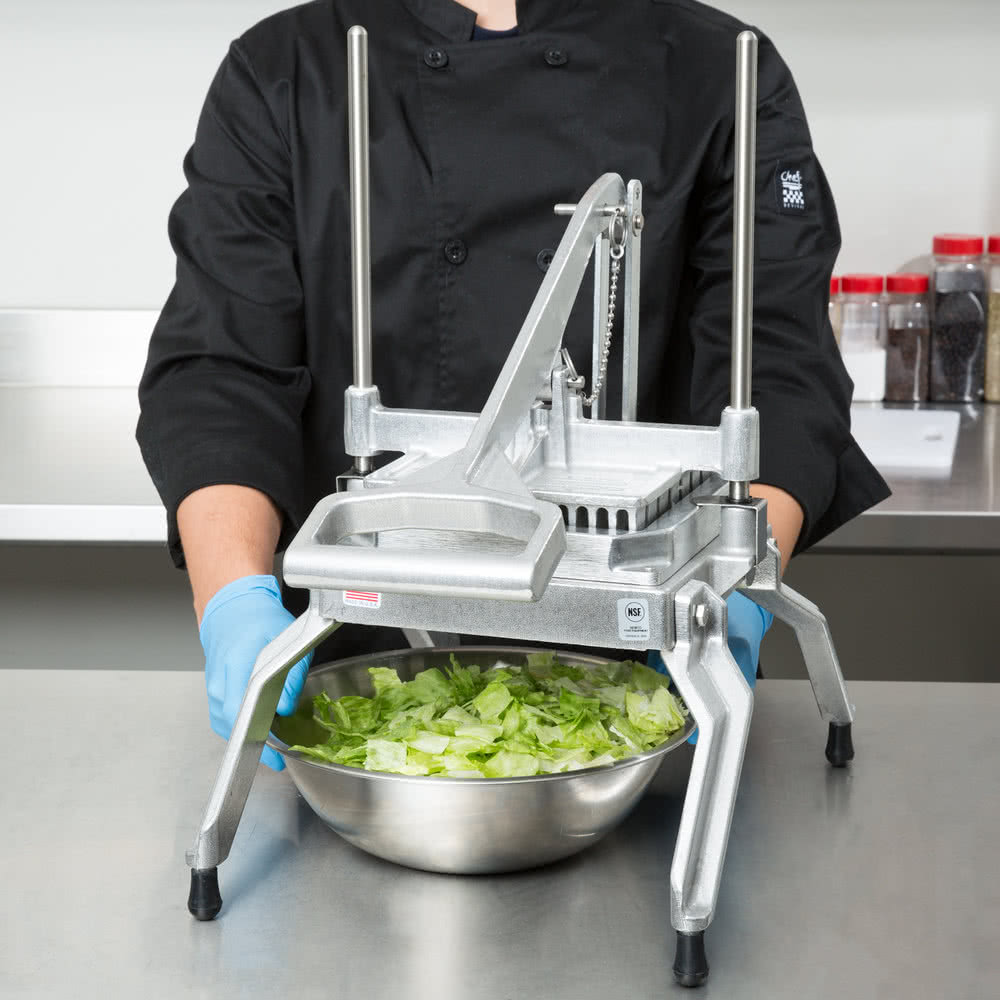 "Блок лезвий для нарезки соломкой 1,27см к каттеру Nemco 55-й серии 1/2"" Slice Blade and Holder Assembly for Easy LettuceKutter #55495"