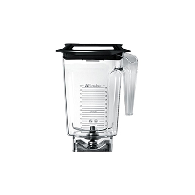 Blendtec 2-х литр.колба для FOURSIDE-SQ Commercial Blender/2-qt FourSide Blender Jar w/ Square Hole Soft Lid & Wingtip Blade
