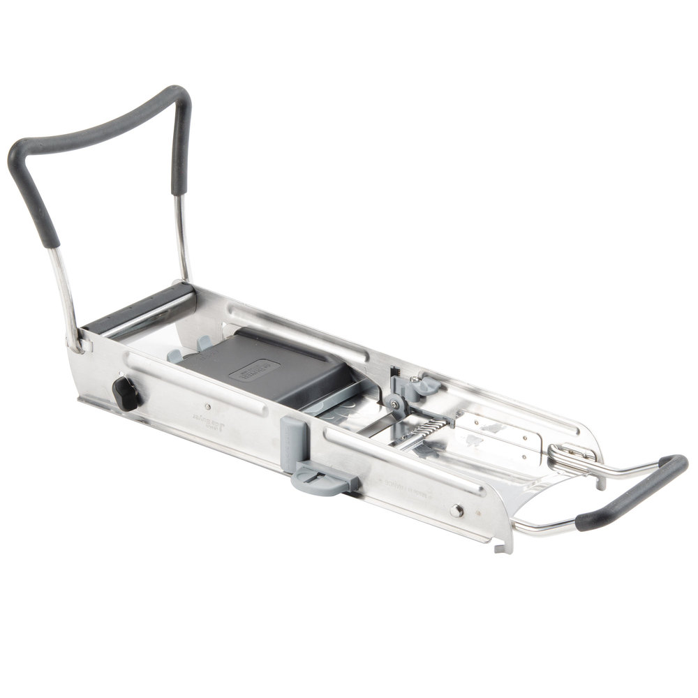 Слайсер-мандолина De Buyer Ultra Stainless Steel Mandoline with Julienne Blades \ # 2012.00 \