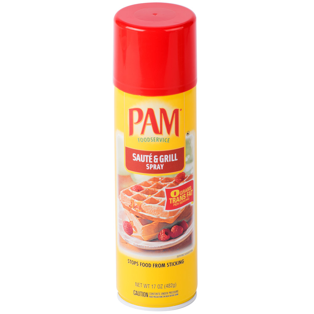 Масло спрей PAM 17 oz.\482грамм\ Saute & Grill Cooking Spray \Best By Aug 2020\