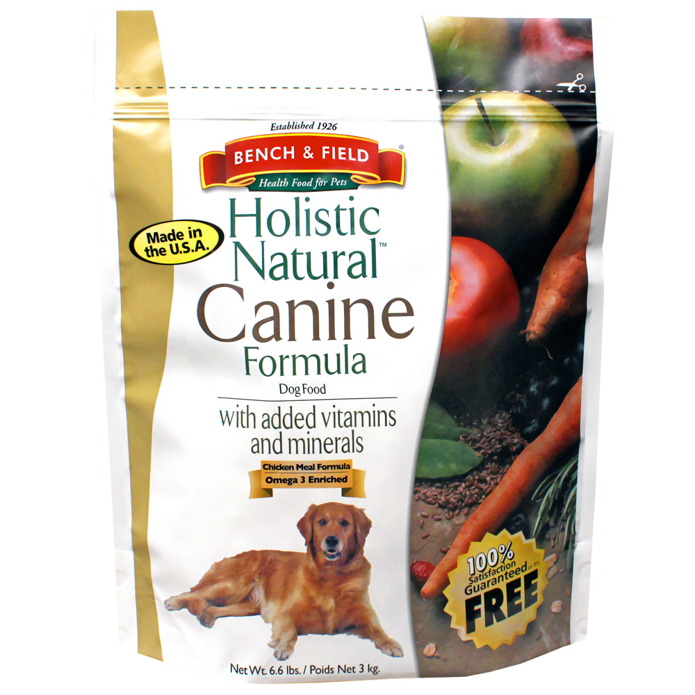 Корм для собак Bench & Field Holistic Natural Canine Formula Dry Dog Food, 2,994кг\6,6Lbs #073411794066
