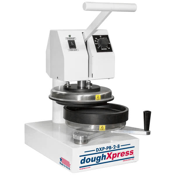 "Пресс для пиццы DoughXpress Manual Par-Bake and Form Pizza Press -20,32см\8"" 208-240v # DXP-PB-2-8"