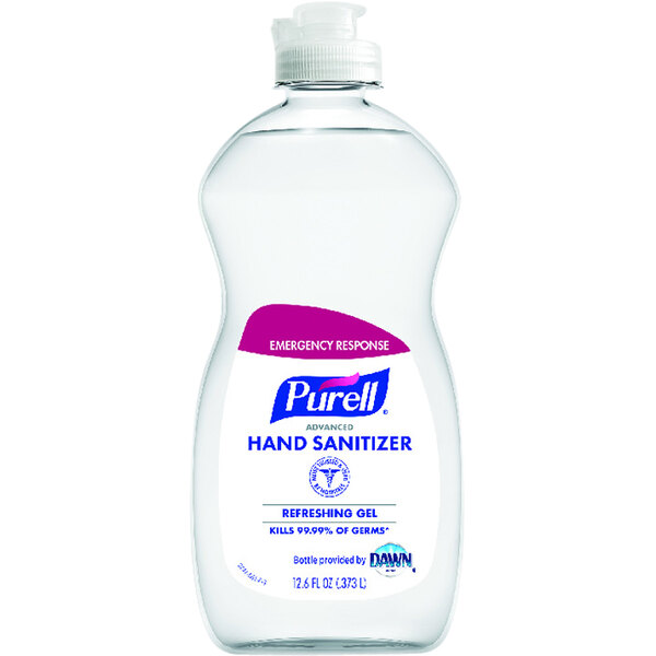 Гель для рук - санитарайзер Purell® Emergency Response Advanced Hand Sanitizer Refreshing Gel 373мл\12.6 oz. #9747-12-S
