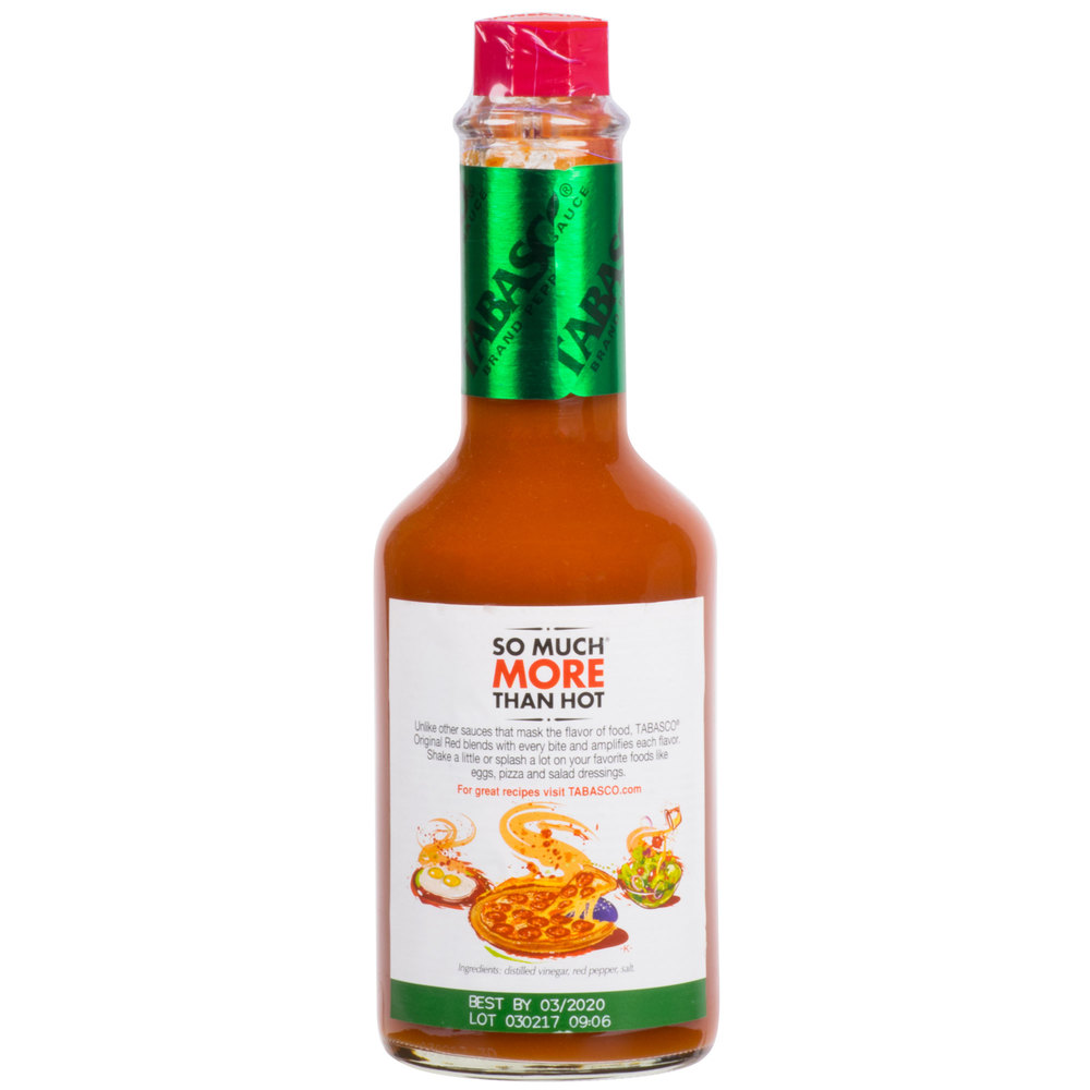 Соус Табаско- TABASCO® Original Pepper Sauce 340гр\12oz #00029