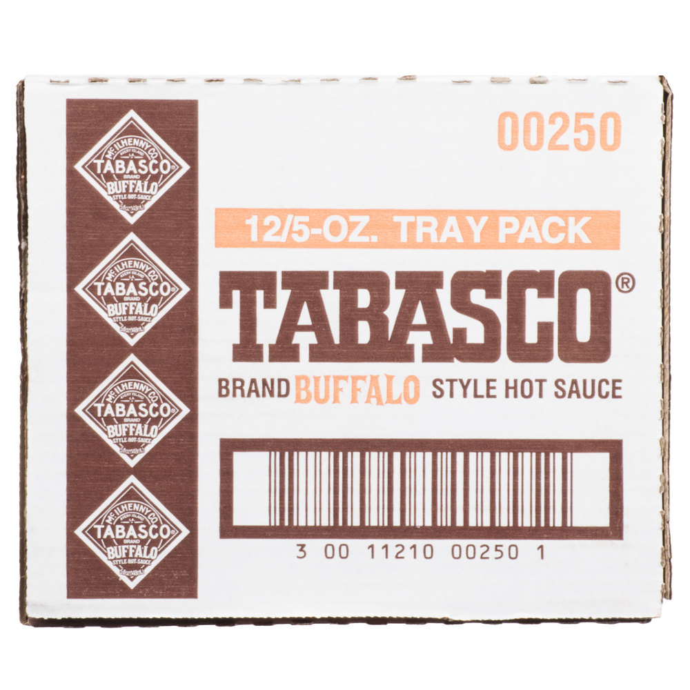 Соус Табаско Баффало - TABASCO® Buffalo Style Hot Sauce 148мл\5oz (Best before 03/2020), Острота 300-900 Hit Units #00250