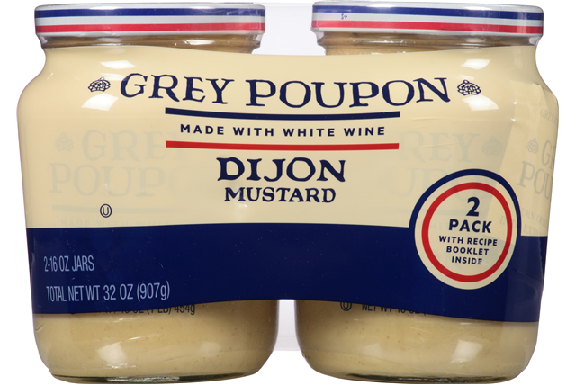 Горчица дижонская Grey Poupon Dijon Mustard, 16 oz\454грамм #27398