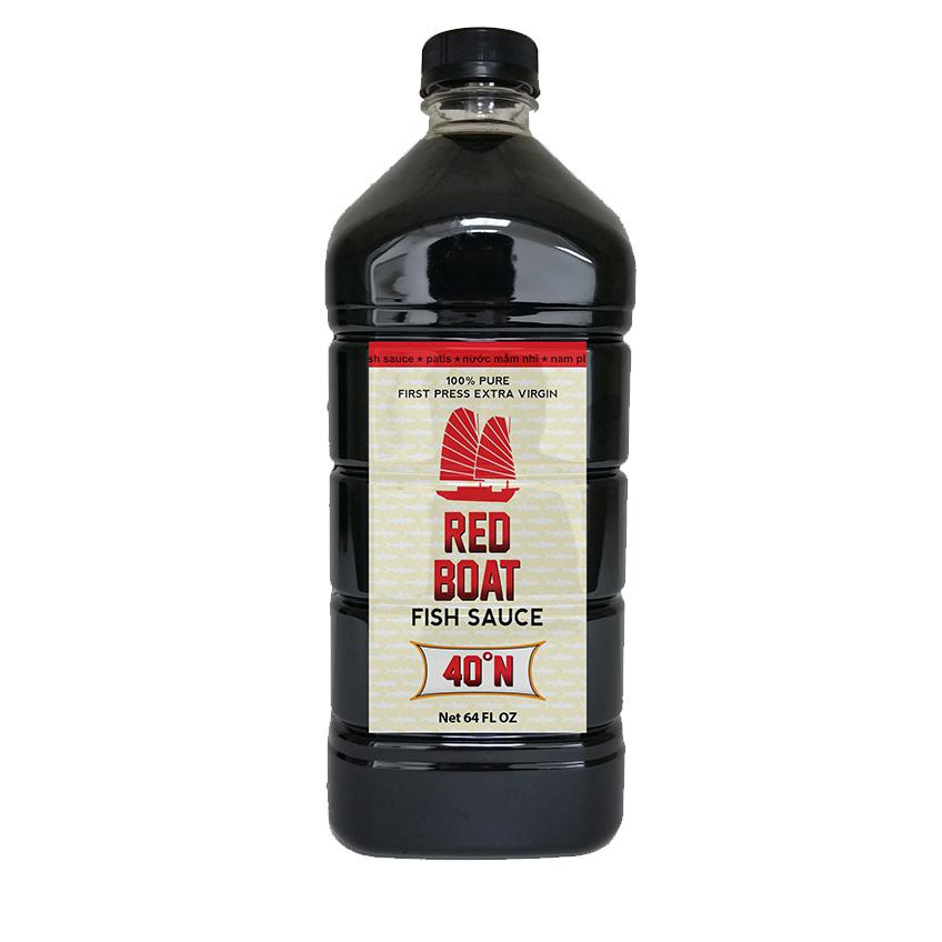 Соус рыбный Red Boat Fish Sauce 40°N 1,892л/64fl.oz #RedBoat64oz