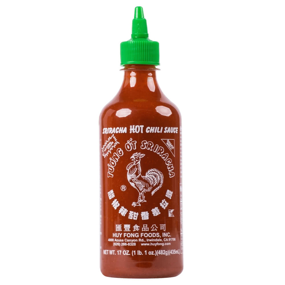 Соус сирача\срирача\ширача- острый соус Huy Fong Sriracha Hot Chili Sauce 17oz\482гр Best before Jul 2019