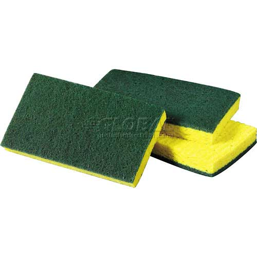 Спонж (губка) для посуды 3M™ Scotch-Brite™ Medium Duty Scrub Sponge (один спонж)#74CC