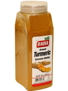 Куркума (турмерик) молотая. Badia Turmeric Ground 16 oz\454грамм #BA00563