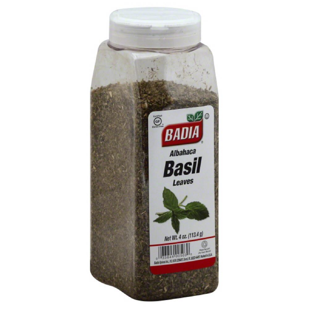 Базилик Basil Leaves Albahaca Badia Spices 4oz(113грамм)