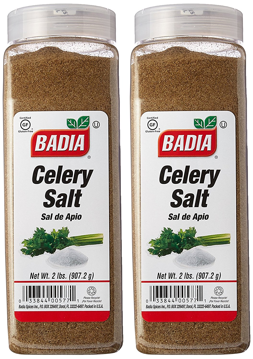 Соль сельдереевая Badia Celery Salt Seasoning  907гр (32oz.)  #BA00577
