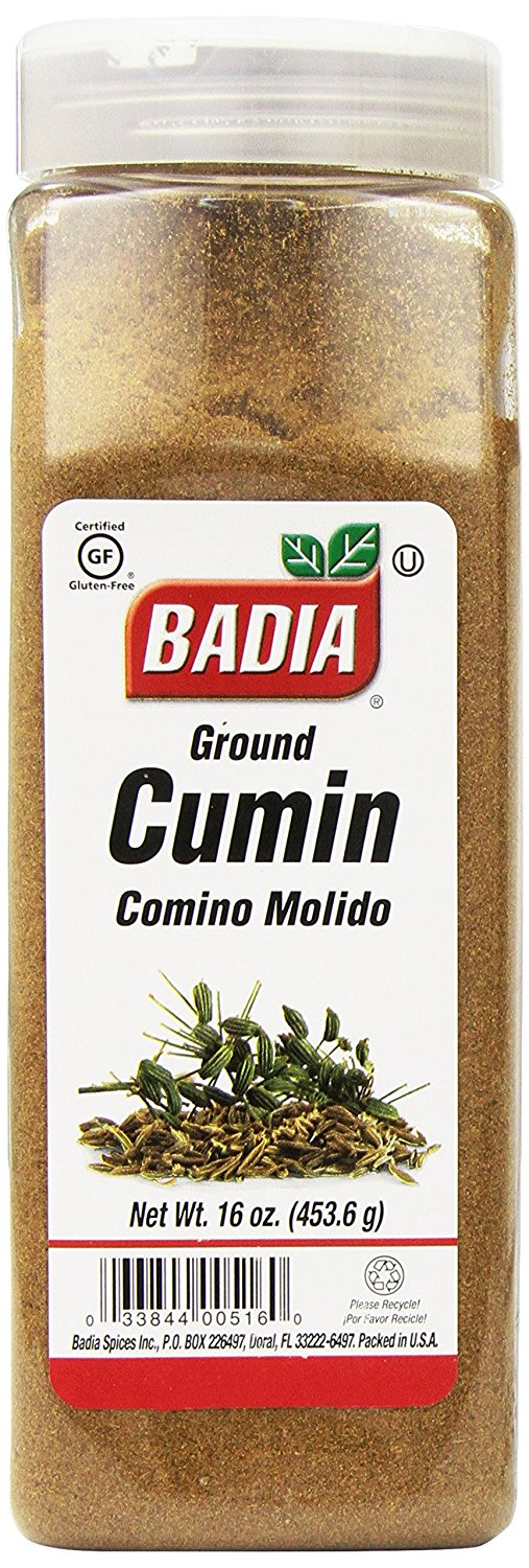 Кумин (зира) молотый Badia Сumin Seed Ground 16oz(454гр) #00516
