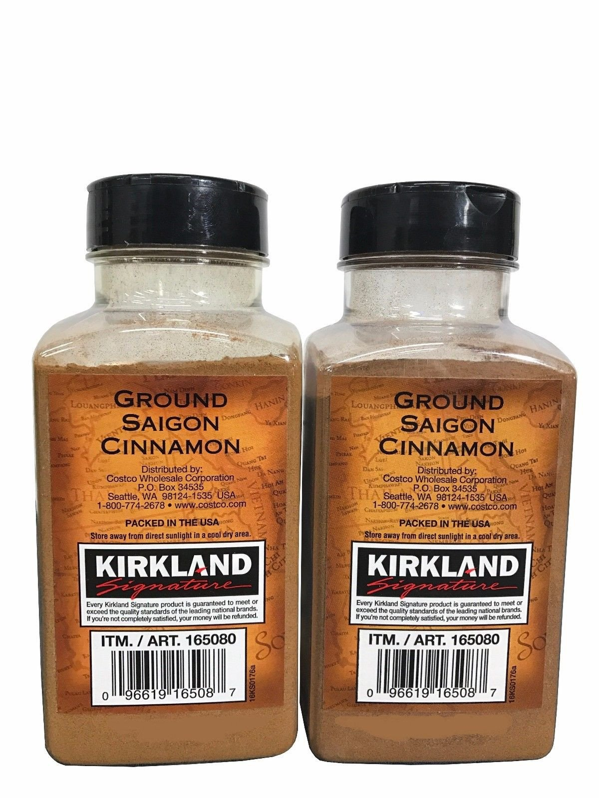 Корица молотая Kirkland Signature Ground Saigon Cinnamon 303гр #165080