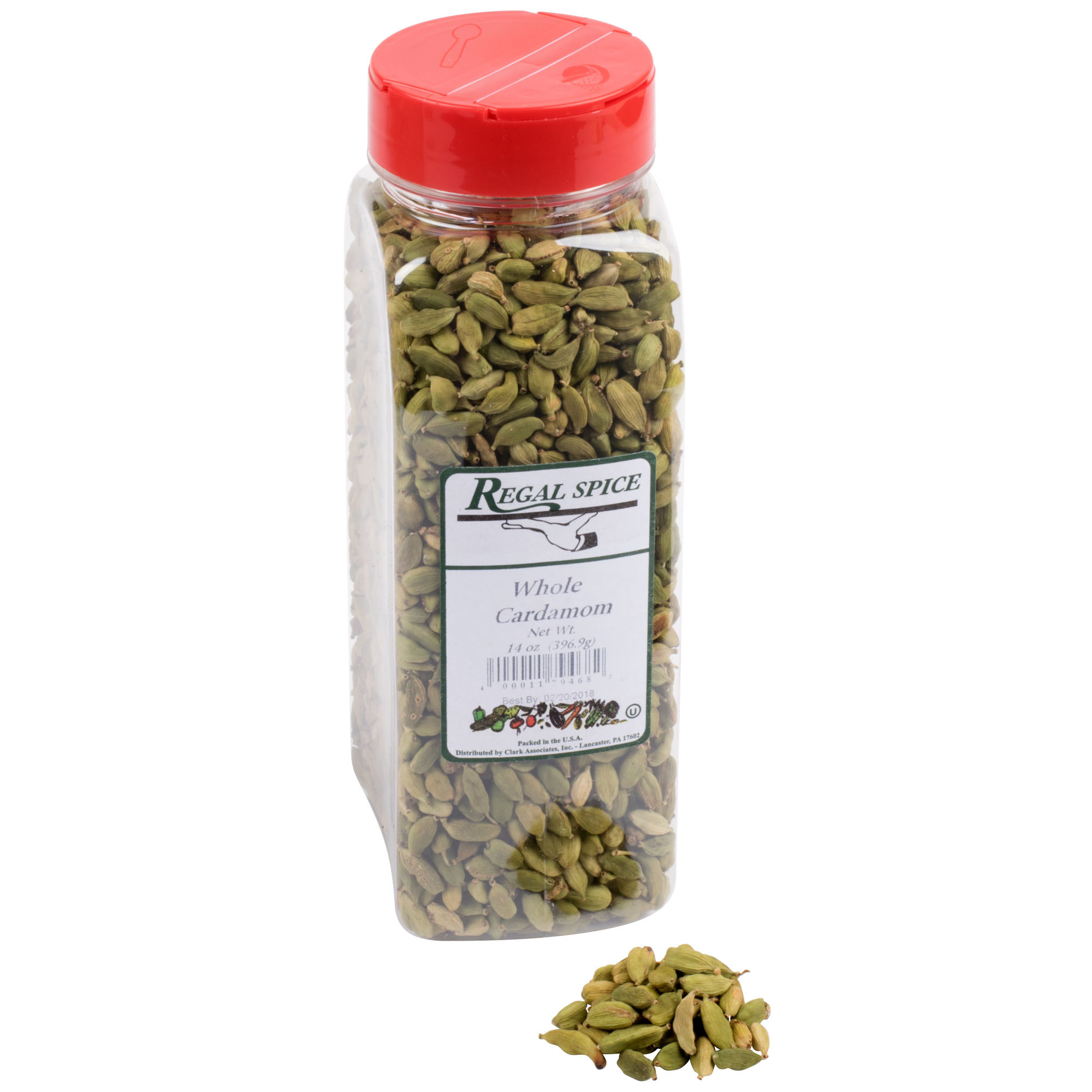 Кардамон целые семена Regal Whole Cardamom 397 гр (14 oz.) Best before 06\05\2018