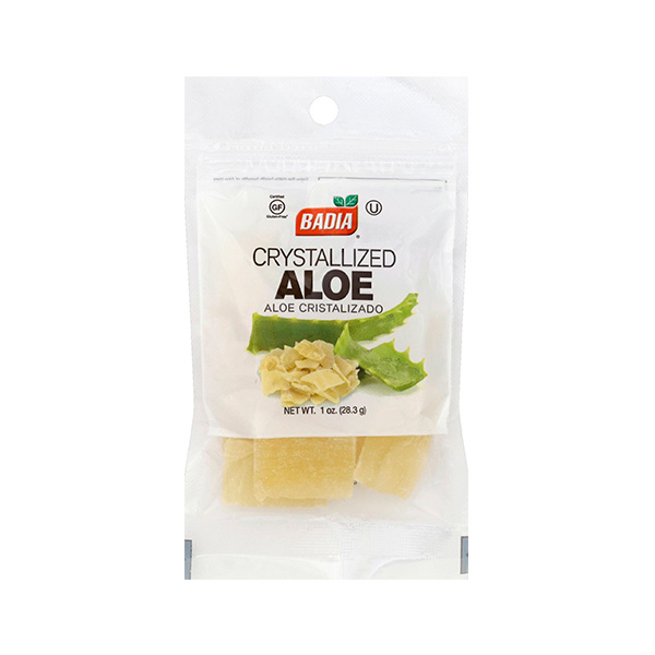 Алое в сахаре Badia Crystallized Aloe Пакетик 28гр\1oz #00086