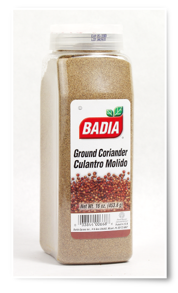 Кориандр молотый Badia Spices Coriander Ground14oz\397гр #00668